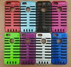New Two In One 3D Microphone Style Hybrid Impact Case Cover For iPhone 5 5S