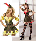 8-14 Womens Sexy Robinson Pirate Costume Halloween Fancy Dress Partywear Cosplay