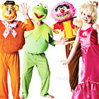 The Muppets Kids Costume + Mask Boys Girls Halloween Childs Fancy Dress Outfit