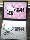 HELLO KITTY TV / bed lap tray with cushion / glass chopping board choose