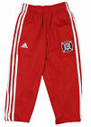 MLS Soccer Toddlers Chicago Fire 3-Stripe Track Pants, Red