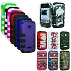 Phone Case For Huawei Ascend Y210 / Glory / Inspira Tri-Layered Rib Cover