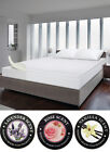 SCENTED MEMORY FOAM MATTRESS TOPPER - Machine Washable with Zipper Cover