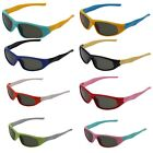 Kids Sports Shades Sunglasses Girls Boys Children Black Lens Frame Eye Glasses