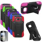 Phone Case For ZTE Savvy Z750c Silicone Corner Cover Stand +Screen Protector