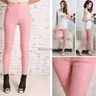 Fashion Jeggings Stretch Skinny lace Leggings Tights Pencil Pants Casual