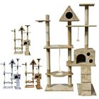 FoxHunter Cat Tree Scratching Post Activity Centre Bed Toys Scratcher 2200 New