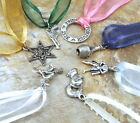 Seven (7) Pewter CAKE PULL Charms BRIDES - WEDDINGS - 3502