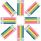 Rainbow Pencil Shaped BallPoint Pen Single Choose Your Color Fun