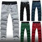 Men Casual Baggy Taper Pants Hot Dance Sport Sweat Slacks Trousers 5 Colors-USHF
