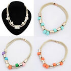 Fashion Design Jewelry High Quality Rhinestone Choker Circle Necklace For Women