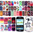 For Samsung Galaxy S3 mini i8190 Art Design PATTERN HARD Case Back Phone Cover