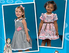 SEWING PATTERN Simplicity 2460 Girls Project Runway Designer PARTY DRESSES
