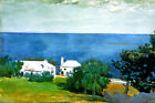 SHORE AT BERMUDA 1899 OCEAN VIEW LANDSCAPE PAINTING BY WINSLOW HOMER REPRO