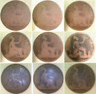 1860 To 1894 Qv Bronze Penny Readable Dates Choose Date Supplied In Coin Wallet