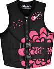 Bart's Women's Hinged Neoprene Life Jacket - Black / Pink - KT4V35PNK - New