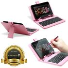 "Leather Style Cover Case with USB Keyboard for 7"" inch Tablet Android PC +Stylus"