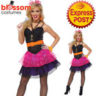 J57 Madonna 80s Pop Star Diva Cyndi Lauper Fancy Dress Hens Party Costume Outfit