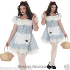 C960 Storybook Sweetheart Dorothy Wizard of Oz Women Plus Size Halloween Costume