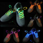 Coloured Shoe Lace Shoelaces Bootlaces Light Up Flash Glow Party Shoestrings Hot