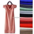 New Hot Womens Slim Jumper Knit Cardigan Pullover Sweater Long Top Blouse N98B