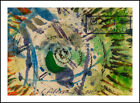 Moving Outward ~ ORIGINAL Abstract PAINTING Fine Art print eye storm Graffiti