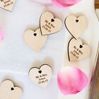 Wedding Gift Favours Table Decorations Personalised Wooden Wishtree Mini Hearts
