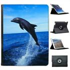 Dolphin Jumping Folio Wallet Leather Case For iPad 2, 3 & 4