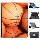 Lots of Used Basketballs Ready for Practice Folio Leather Case For iPad 2, 3 & 4