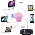 MiNi Bluetooth Speaker Wireless Waterproof Suction For MIC Phone Ipod Samsung