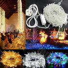 1000 LED 200M Waterproof Fairy String Lights Christmas Party Wedding Garden UK