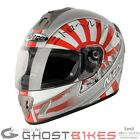 NITRO NGFP JAPAN FULL FACE MOTORBIKE MOTORCYCLE RACING CRASH HELMET
