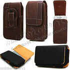 New Stylish Belt Clip Leather Case Cover Pouch For Blackberry Various Phones