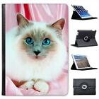 Birman cat Folio Wallet Leather Case For iPad Air & Air 2