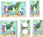 BABY SEA TURTLE CLOWN FISH TROPICAL FISH  HOME DECOR LIGHT SWITCH COVER PLATE