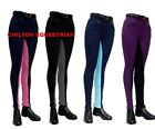 "GALLOP CHILDRENS JODHPURS 24"" -32"" - NAVY / PINK / BLUE, PURPLE / BLACK /GREY"