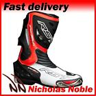 RST TRACTECH EVO 1516 CE CERTIFIED SPORTS MOTORCYCLE MOTORBIKE BOOTS HIVIZ RED