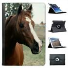 Close Up Of Horse Folio Leather Case For iPad Mini & Retina