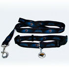 NEW JACKSONVILLE JAGUARS PET SET ADJUSTABLE DOG COLLAR LEASH & ID TAG ALL SIZES $21.95 USD on eBay