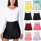 New Womens fashion Slim Thin High Waist Pleated Tennis Skirts Mini Dress Playful