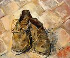 SHOES IMPRESSIONISM 1888 PAINTING BY VINCENT VAN GOGH REPRO