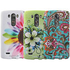 New For LG G3 Flower Vintage Paisley Pattern Design Protective Case Cover Skin