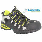NEW MENS LEATHER SAFETY COMPOSITE TOE CAP ANKLE WORK BOOTS LADIES SHOES TRAINERS