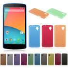 0.3mm Ultra Slim Thin Matte Frosted Clear Soft Case Cover for LG Google Nexus 5