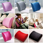 Travel Home Office Car Seat Chair Memory Foam Lumbar Back Support Cushion Pillow