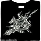 Dragon in Flight Shirt, fire breathing, graphic, Small - 5X, many colors, plus