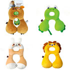 Cute Baby Neck U-shaped Travel Pillow Car Seat Cushion Baby Stroller Bed Pillow