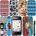For Huawei Prism II U8686 Inspira H867G Rubberized HARD Case Phone Cover + Pen