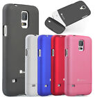 New For Samsung Galaxy S5 SV Rubberized Slim Fit Hard Shell Case Cover Protector