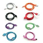1M Braided Micro USB3.0 Data Sync Charger Cable Cord For Samsung Galaxy S5 Note3